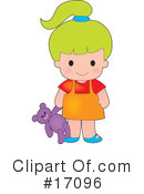 Girl Clipart #17096 by Maria Bell