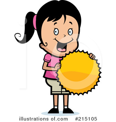 Royalty-Free (RF) Girl Clipart Illustration by Cory Thoman - Stock Sample #215105