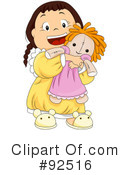 Girl Clipart #92516 by BNP Design Studio