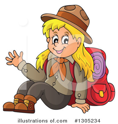 Camping Clipart #1305234 by visekart