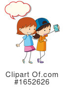 Girls Clipart #1652626 by Graphics RF