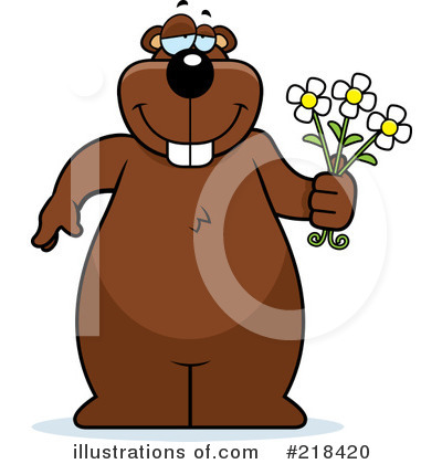 Beaver Clipart #218420 by Cory Thoman