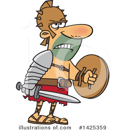 Warrior Clipart #1425359 by toonaday