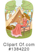Glamping Clipart #1384220 by BNP Design Studio