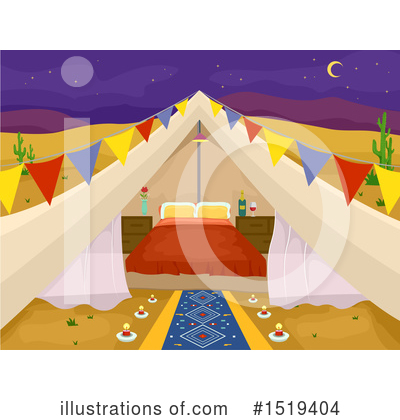Glamping Clipart #1519404 by BNP Design Studio