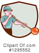 Glass Blower Clipart #1295552 by patrimonio
