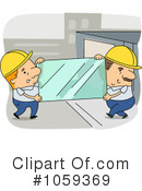 Royalty-Free (RF) glass Clipart Illustration #1059369