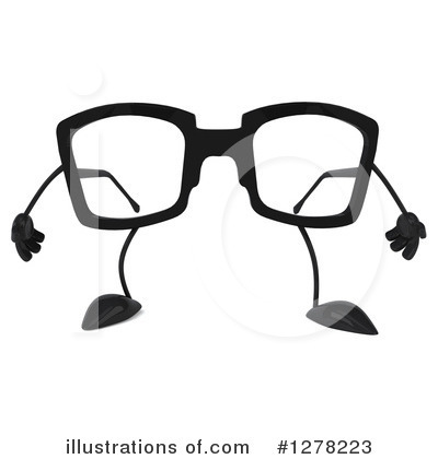 3d Glasses Clipart #1278223 by Julos