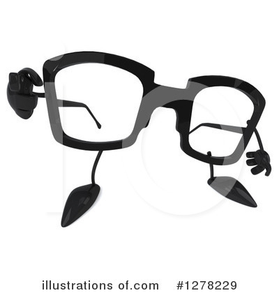 3d Glasses Clipart #1278229 by Julos