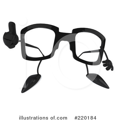 3d Glasses Clipart #220184 by Julos