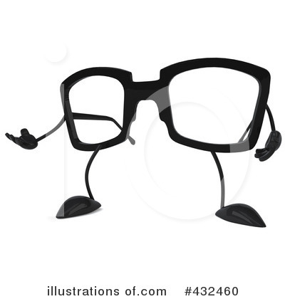 Glasses Character Clipart #432460 by Julos