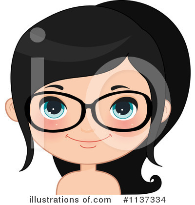Glasses Clipart #1137334 by Melisende Vector