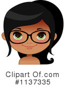 Royalty-Free (RF) Glasses Clipart Illustration #1137335