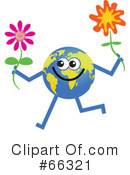 Global Character Clipart #66321
