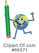 Global Character Clipart #66371