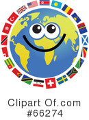 Global Face Character Clipart #66274