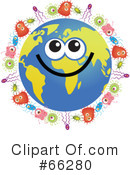 Global Face Character Clipart #66280