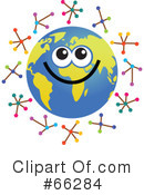 Global Face Character Clipart #66284