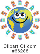 Global Face Character Clipart #66288