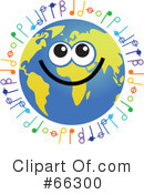 Global Face Character Clipart #66300