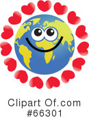 Global Face Character Clipart #66301