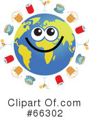 Global Face Character Clipart #66302