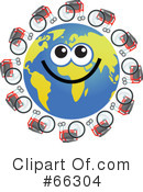 Global Face Character Clipart #66304