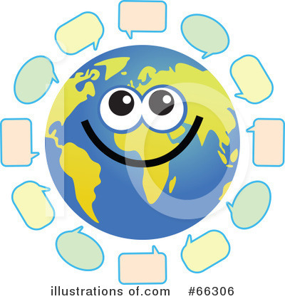 Global Face Character Clipart #66306 by Prawny