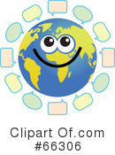 Global Face Character Clipart #66306