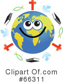 Global Face Character Clipart #66311
