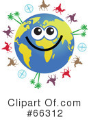Global Face Character Clipart #66312