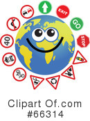 Global Face Character Clipart #66314