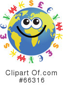 Global Face Character Clipart #66316