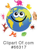 Global Face Character Clipart #66317