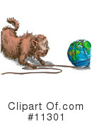 Royalty-Free (RF) Global Warming Clipart Illustration #11301
