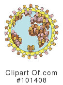 Royalty-Free (RF) Globe Clipart Illustration #101408