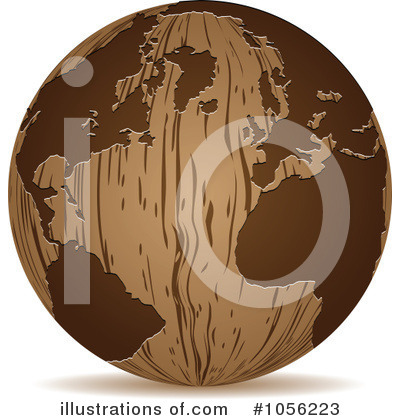 Royalty-Free (RF) Globe Clipart Illustration by Andrei Marincas - Stock Sample #1056223