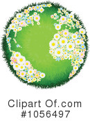 Globe Clipart #1056497 by AtStockIllustration