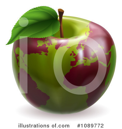 Royalty-Free (RF) Globe Clipart Illustration by AtStockIllustration - Stock Sample #1089772