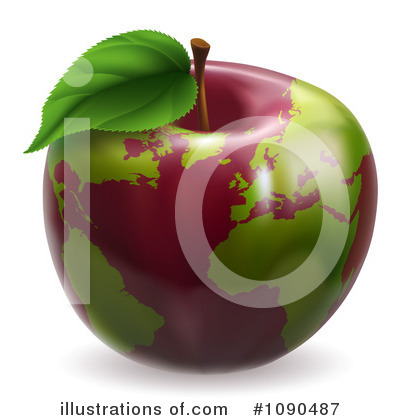 Fruit Clipart #1090487 by AtStockIllustration