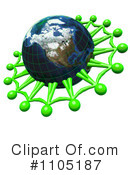 Royalty-Free (RF) globe Clipart Illustration #1105187