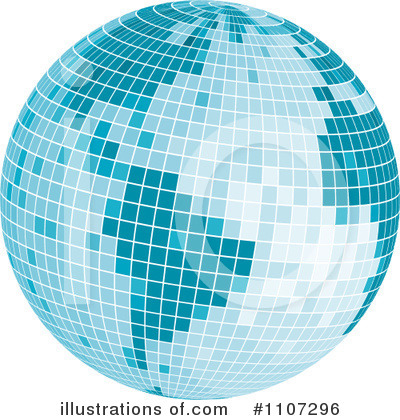 Globe Clipart #1107296 by Amanda Kate