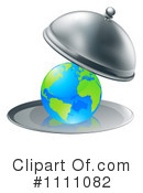 Royalty-Free (RF) Globe Clipart Illustration #1111082