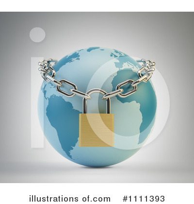 Padlock Clipart #1111393 by Mopic