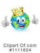 Royalty-Free (RF) globe Clipart Illustration #1111604