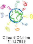 Globe Clipart #1127989 by MacX