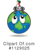 Globe Clipart #1129025 by Graphics RF