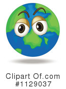 Globe Clipart #1129037 by Graphics RF