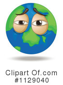 Globe Clipart #1129040 by Graphics RF