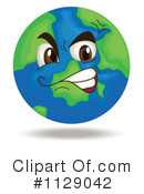 Globe Clipart #1129042 by Graphics RF